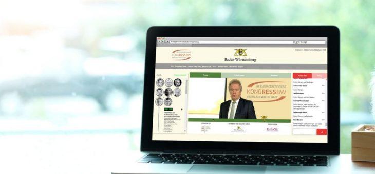 VOK DAMS inszeniert den KONGRESS BW 2020 digital