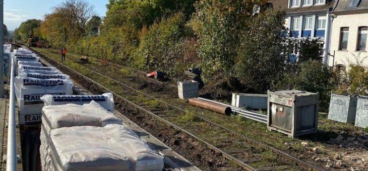 NVR und DB investieren in Reaktivierung des Bahnsteigs