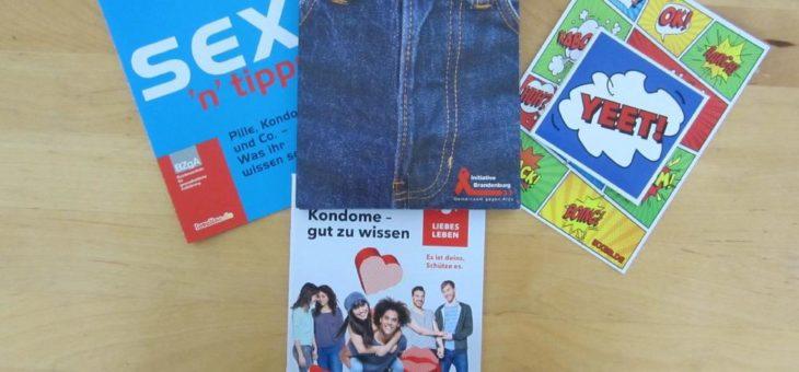 """Eine """"Jeans Box"""" voll mit Prävention und Aufklärung"""