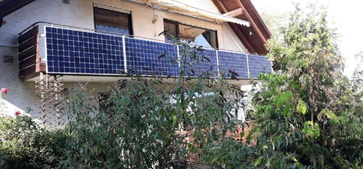 Balkonsolaranlagen – Umweltfreundlich Strom produzieren