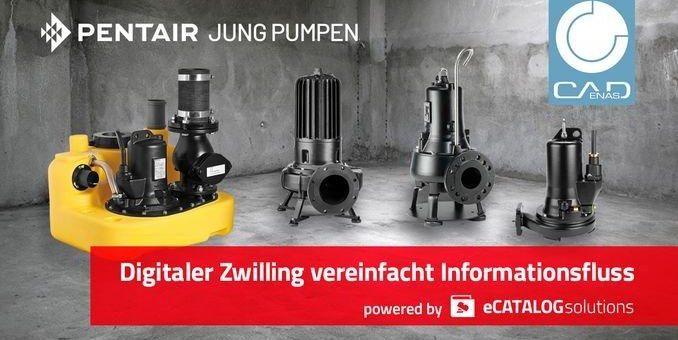 Pentair Jung Pumpen vereinfacht den Informationsaustausch mit Architekten und Planern dank digitaler Zwillinge