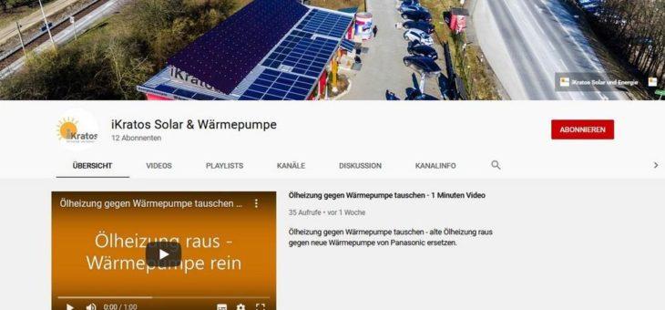 Erklärfilme für Photovoltaik und Wärmepumpen