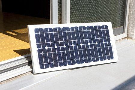 Kompakte Solaranlage