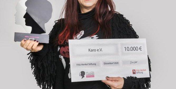"""Plauener Karo-Verein gewinnt Schwarzkopf Million Chances Award in der Kategorie """"Start Up"""""""
