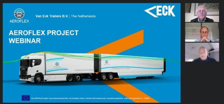 Van Eck organisierte ein AEROFLEX-Webinar zur Unterstützung des künftigen Umsetzungsfahrplans seiner Interessenvertreter