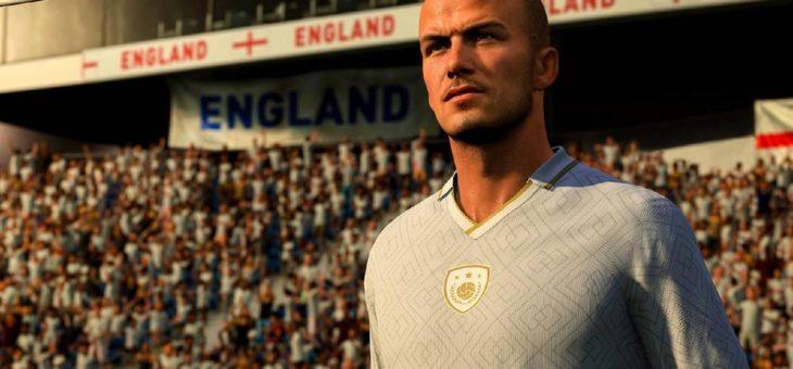 EA SPORTS FIFA 21 begrüßt die Fußballlegende David Beckham zurück im Spiel