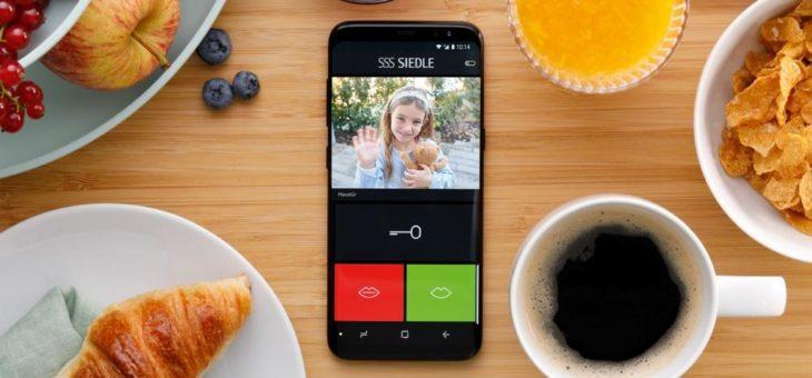 Türklingel auf dem Smartphone