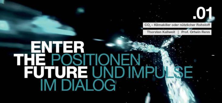 """Neue Veranstaltungsreihe """"ENTER THE FUTURE"""" der WITTENSTEN SE: """"CO2 – Klimakiller oder nützlicher Rohstoff"""""""