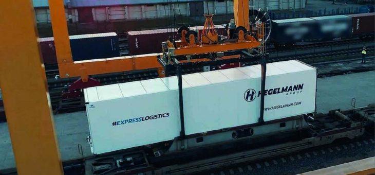 Nachhaltige Flexibilität: Hegelmann setzt auf intermodale Transportangebote