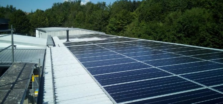 Industriestrom mit Photovoltaik
