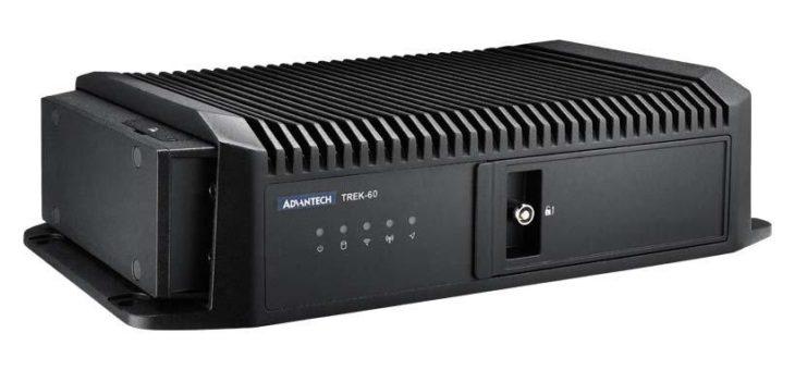 Advantech TREK-60: Neuer Fahrzeugcomputer für Flottenmanagement vorgestellt