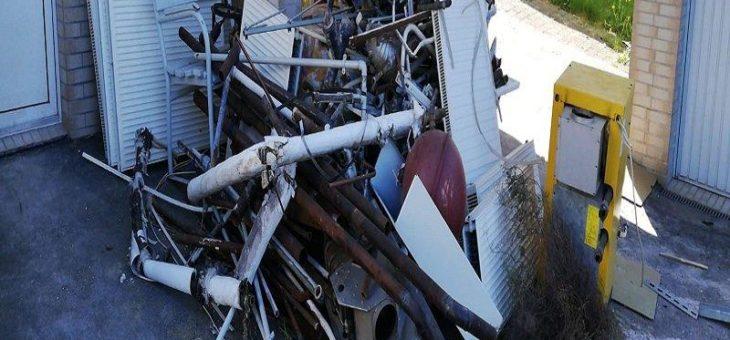 Der Schrottankauf garantiert faire Preise und professionelles Schrott-Recycling