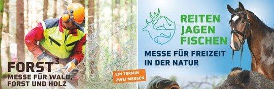 22. Reiten-Jagen-Fischen und 2. Forst³ finden vom 14. bis 16. Mai 2021 statt