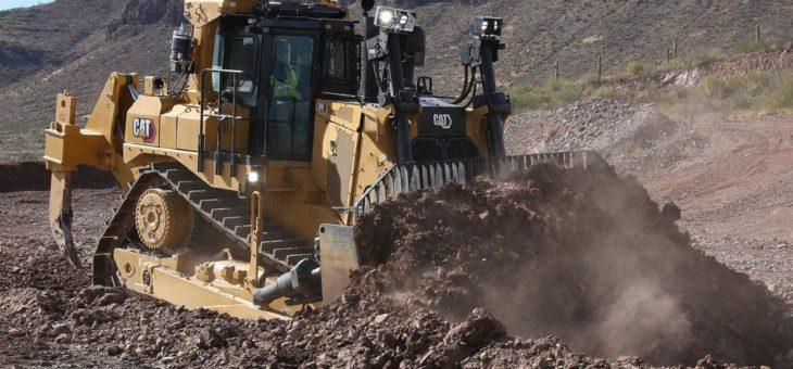 Neu: 50-Tonnen-Dozer Cat D9