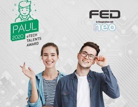 FED zeichnet junge Techniktalente mit dem PAUL Award aus