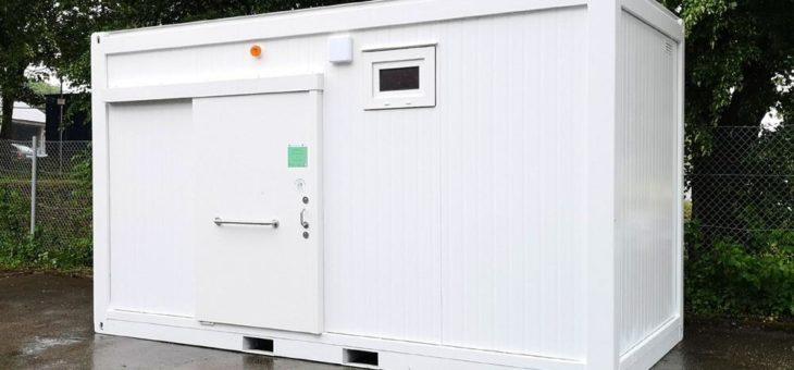 Grinbold-Jodag baut ersten mobilen barrierefreien WC-Container für den Landkreis Reutlingen