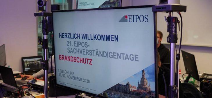 Rückblick auf die EIPOS-Sachverständigentage Brandschutz 2020