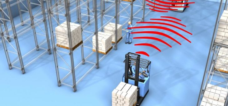 Dienstleistungsunternehmen steigert Sicherheit und Flexibilität in der Logistik