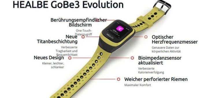 Automatischer Kalorientracker Healbe GoBe3 Evolution