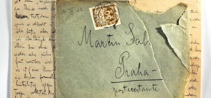 Deutsches Literaturarchiv erwirbt Brief von Franz Kafka an Max Brod