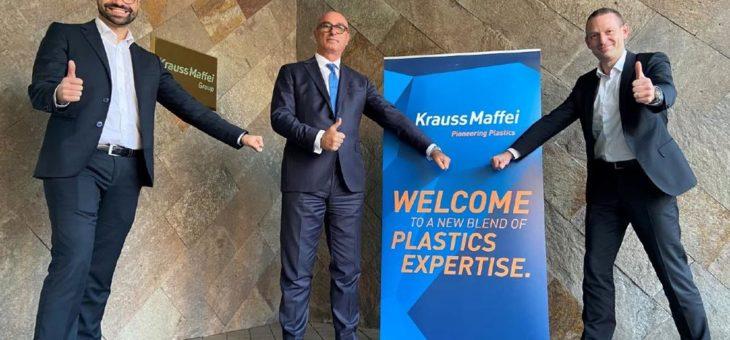 Tiziano Caprara wird neuer Geschäftsführer von KraussMaffei Italien