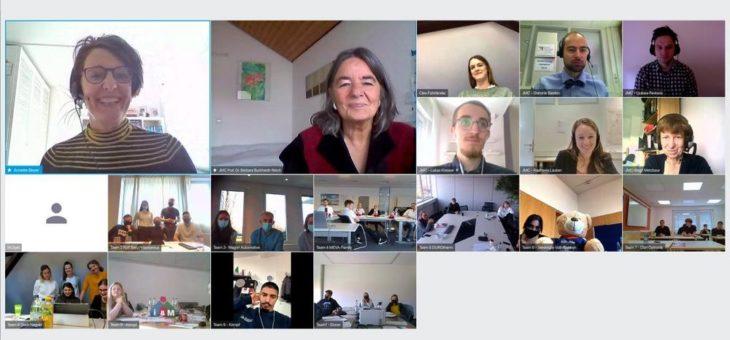 Nachwuchsmanager treten erstmals digital gegeneinander an