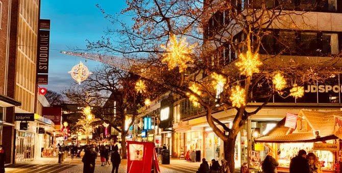 Erheblicher Passantenrückgang in der Innenstadt ohne große Weihnachtsmärkte