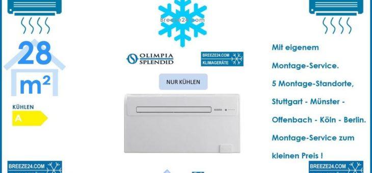Unico Air Inverter 10 SF C Monoblock-Klimagerät 2,3kW Nur Kühlen für 1 Zimmer mit 28 m² Fläche