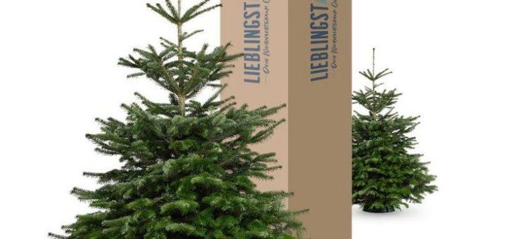 In diesem Jahr den Weihnachtsbaum bequem nach Hause liefern lassen