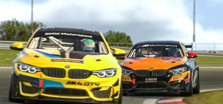 Das perfekte Beispiel für die Synergien zwischen realem Motorsport und Sim-Racing: der BMW M4 GT4