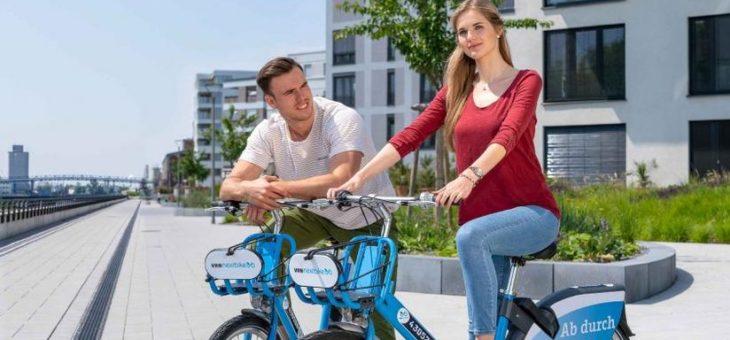 Neue Features beim Fahrradvermietsystem VRNnextbike noch vor Jahresende