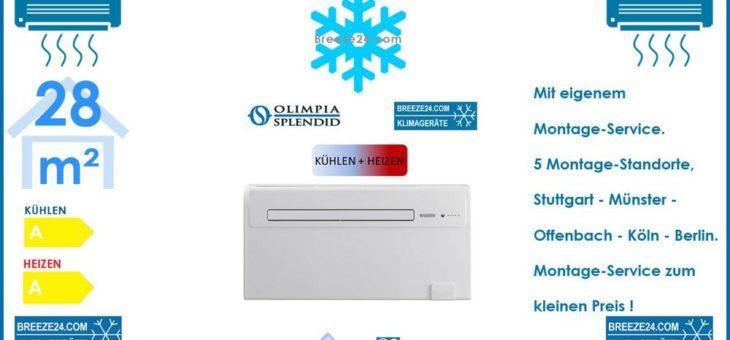 Unico Air Inverter 10 HP Monoblock-Klimagerät 2,3kW Kühlen und Heizen für 1 Zimmer mit 28 m² Fläche