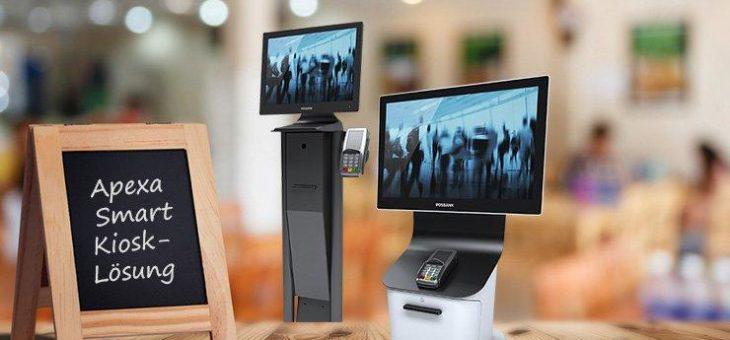 POSBANK präsentiert die Apexa Smart Kiosk-Lösungen