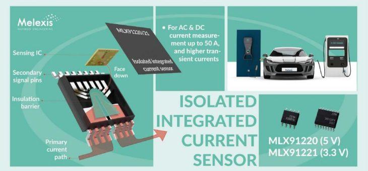 Melexis stellt die nächste Generation isolierter, integrierter Stromsensoren für Automotive-Anwendungen vor