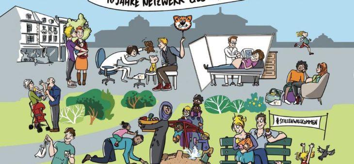 """Zehn Jahre Netzwerk Gesund ins Leben: """"Einzigartig im europäischen Vergleich"""""""