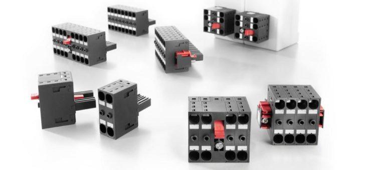 OMNIMATE® Power Steckverbinder BVDF 7.62 HP – mit integrierter Querverbindung für Geräte