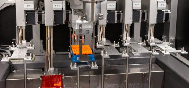 Das PlugIn für Pipettier-Plattformen zum automatisierten Einfrieren von Proben bis -160°C