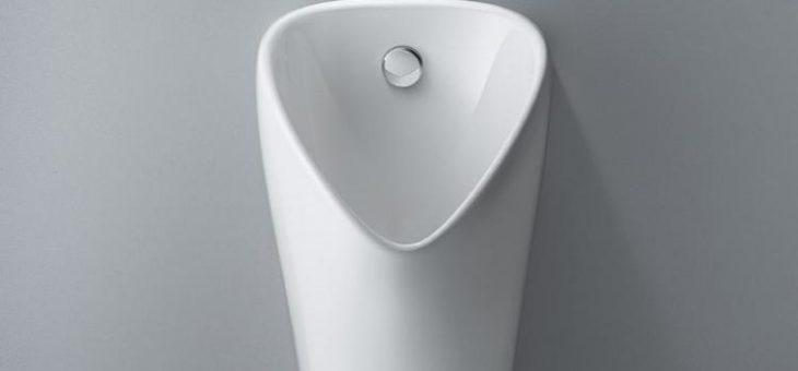 Innovatives Technikkonzept, neue Urinalkeramiken