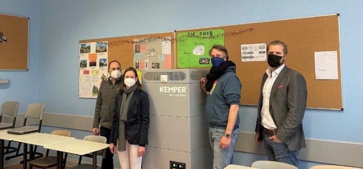 Luftreinigung gegen Corona: Erster Berliner Stadtbezirk stattet Schulen mit Luftreinigern aus