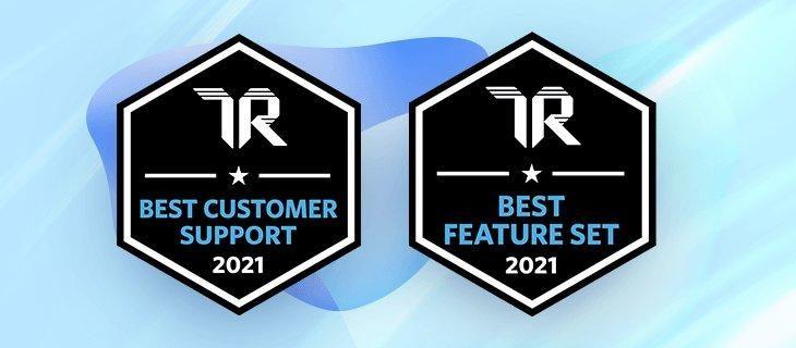 Dynamic Yield gewinnt 2021 zwei Best-of-Awards von TrustRadius