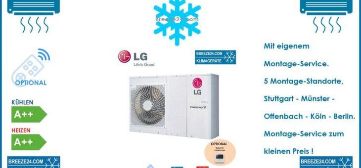 LG Electronics HM051M-U43 Kompakt Wärmepumpe 5,5 kW