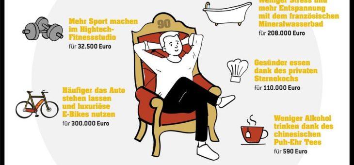 90 Millionen Euro zum Jahresstart – So luxuriös können Neujahrsvorsätze sein