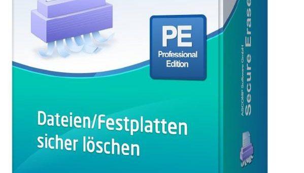 Browserverläufe endgültig und sicher löschen unter Windows – ASCOMP veröffentlicht Version 5.2 für Secure Eraser