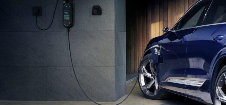 Intelligenz gegen den Blackout: Audi e-tron ist startklar für netzdienliches Laden