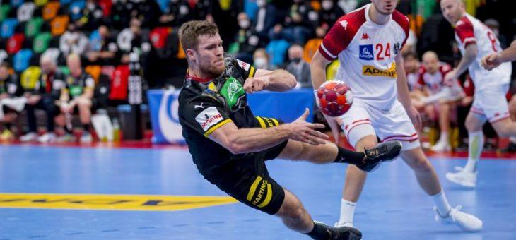 HARTING fiebert mit der Handball-Nationalmannschaft