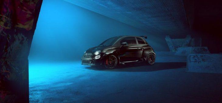 Kompakte automobile Leidenschaft –  POGEA RACING stärkt Optik und Performance des Abarth 595 SERIE 4 zum athletischen HERCULES