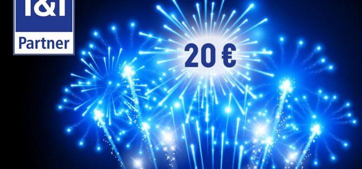 Aktion zum Start in 2021: 1&1 und ENO bieten Neujahrsbonus