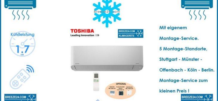 Toshiba VRF HI-Wall Wandgerät MMK-AP0057HP-E – mit Kühlleistung 1,7 kW