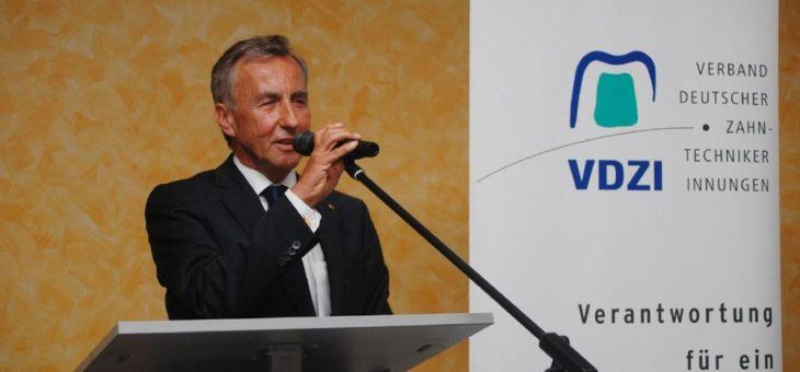 VDZI-Ehrenpräsident Lutz Wolf im Alter von 77 Jahren verstorben (3. Juni 1943 bis 20. Januar 2021)