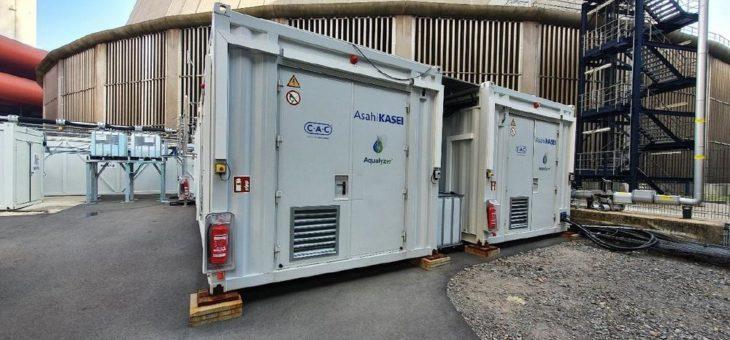 Wasser-Elektrolyse-Anlage für internationales Forschungsprojekt errichtet mit dem Ziel der CO2-Reduzierung